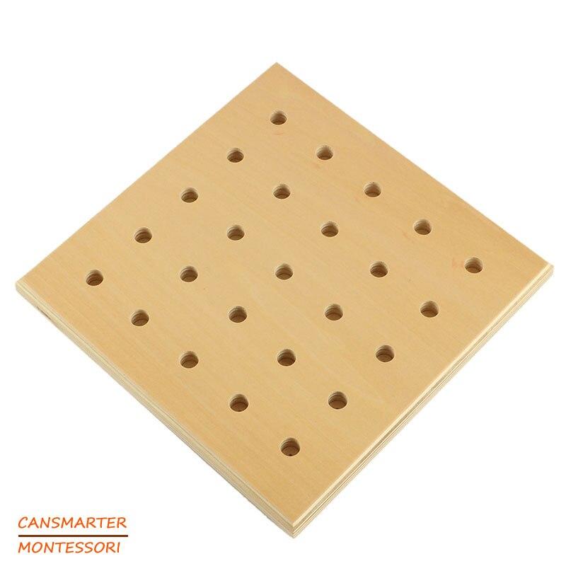 Montessori jouets coloré douille cylindre blocs bois bambin en bois jouets pour enfants développement éducatif - 5