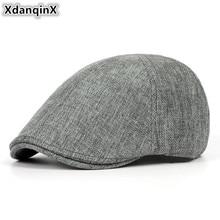 617529fd9c3 XdanqinX Summer Retro Men s Cap Ultra-thin Breathable Berets For Men Women  Elegant Women s Flat