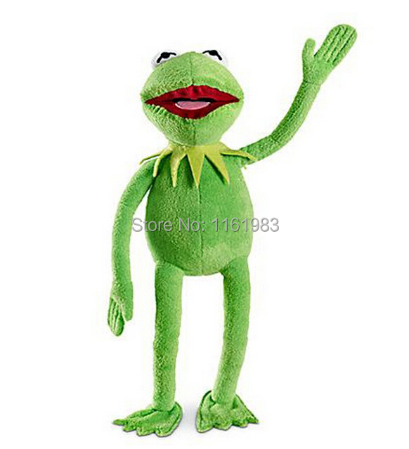 The Mapettsu Kermit parallel The Muppets Kermit Plush stuffed toys 30cm Cute Frog Plush maggie and kermit hollywood