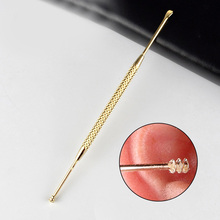 1PC Double-ended Stainless Steel Spiral Ear Pick Spoon Ear Wax Removal Cleaner Ear Care Beauty Tool Portable #232123
