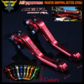 8 Colors With Logo(CBR 1000RR)Red CNC 2 finger Short Motorcycle Brake Clutch Levers For Honda CBR1000RR 2004 2005 2006 2007