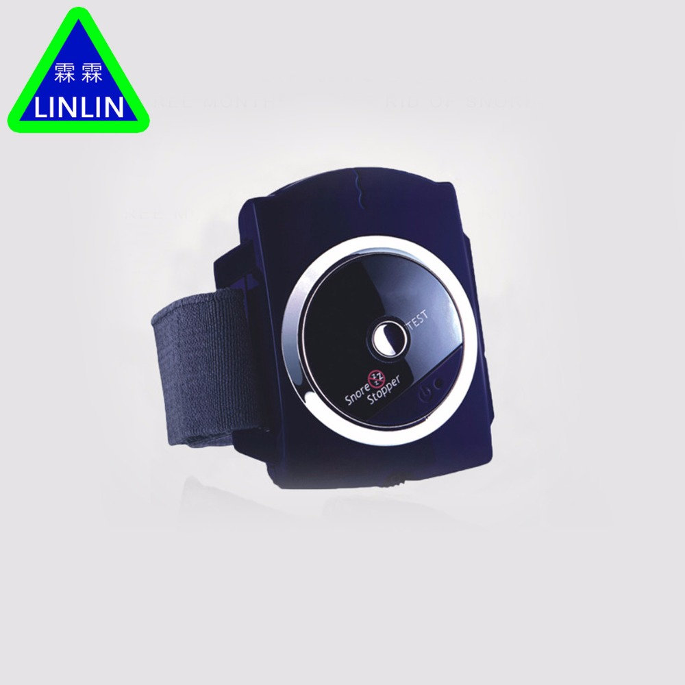 LINLIN Smart Snore Stopper Stop Snoring Biosensor Infrared Ray Detects Anti Snoring Device Wristband Watch Sleeping Aid hot anti drowning bracelet rescue device floating wristband wearable swimming safe device water aid lifesaving for adult kids