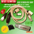 Original MRT Dongle mrt key + UMF all in 1 cable (Ultimate Multi-Functional Cable)