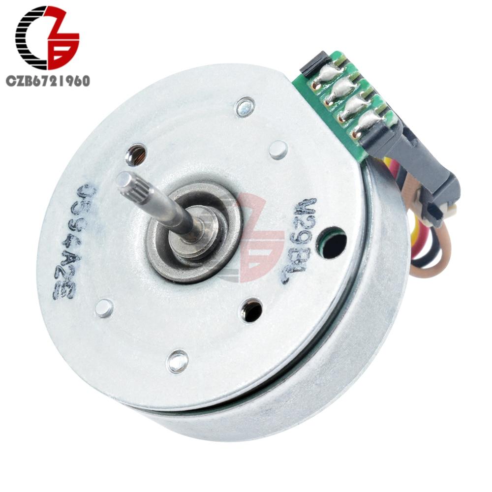 1X DC12V Brushless Gear Motor 3-Phase External Rotor Motor Hand-cranked 5V Motor