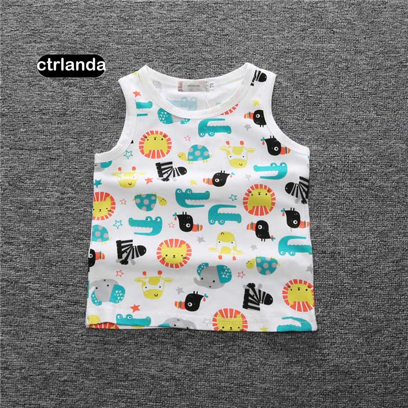 baby-boys-girls-cotton-vest-1-4Y-children-70-110cm-clothes-newborn-child-gifts-fashion-pattern-kids-camisoles-Tanks-tops-1
