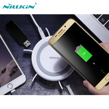 Nillkin Hermit Multifunctional Wireless USB 3.0 Charger For Android IOS System Portable 4 USB Charger for Samsung/HTC/iPhone/LG