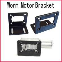 DC 6V 12v 24v Worm Motor bracket Fastener retaining clip Protective shell Motor Parts fastening piece  fixed