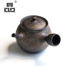 TANGPIN japanese ceramic teapot handmade tea pot chinese kung fu with gifts box 250ml