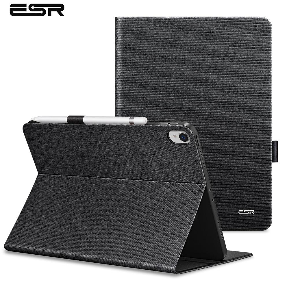 ESR Case for iPad Pro 11 2018 Simplicity PU Leather Smart Cover Folio Case Auto Wake Cover Case for New iPad Pro 11 2018 Release цена