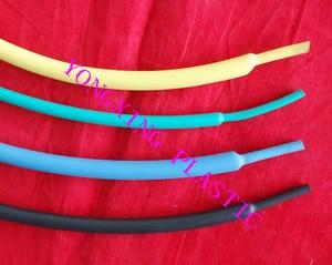 1 M/lotto 1/8 pollice (3.2mm) termica di calore del tubo termoretraibile con colla a doppia parete shrink ratio 3:1 per cavo di filo guaina isolante