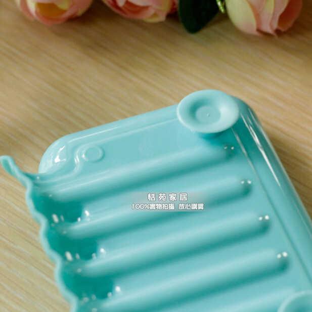 צבע ממתקי פרייר ניקוז אמבטיה צלחת סבון תיבת תיבת אחסון Miscellaneously 3 יח'\חבילה ספוג כיור