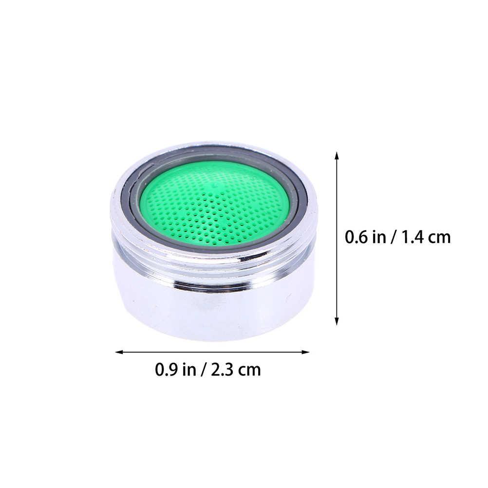 10 Pcs Thread Swivel Faucet Nozzle Aerator Filter Sprayer Dapur Hemat Air Aksesoris Keran