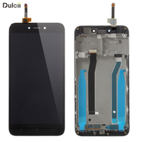 For Xiaomi Redmi 4X Xiomi Redmi4X OEM LCD Screen And Digitizer Assembly Frame Part Mobile Replace