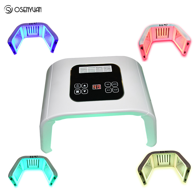 PDT LED Photon Light Therapy Lamp Home Use Facial Body Beauty SPA PDT Mask Skin Tighten Rejuvenation Acne Wrinkle Remover Device 4color pdt led light therapy machine face beauty photodynamic lamp acne wrinkle remove skin rejuvenation spa ageless pdt therapy