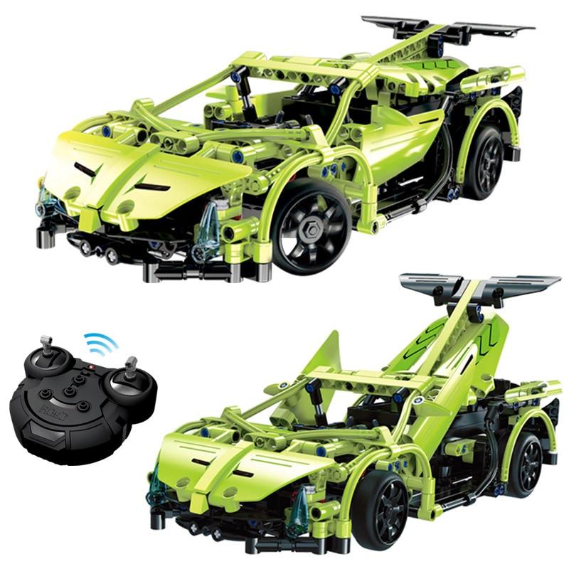 Technique Série Simulation De Voiture Télécommande blocs de construction de BRICOLAGE jouet compatible LegoINGLYS Jouet Éducatif pour Enfants 453 pcs