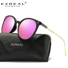 цена на EZREAL Cat Eye Classic Brand Polarized Sunglasses Women Hot Selling Sun Glasses Vintage Oculos With Original Package A397