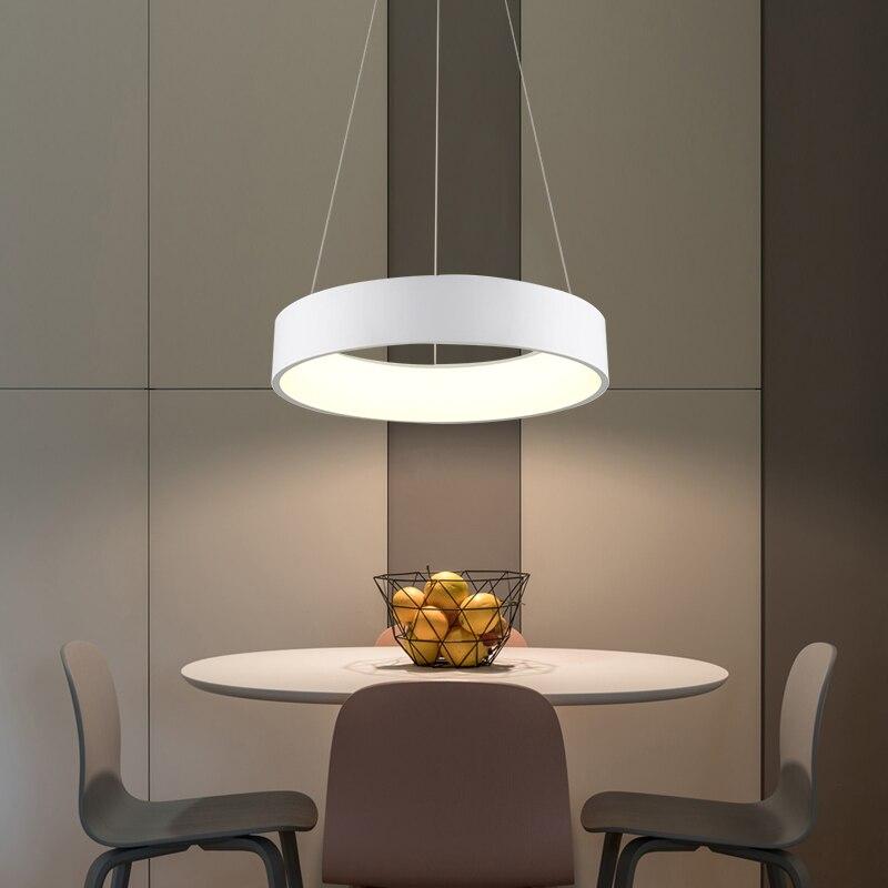diseo moderno led luces pendientes suspensin de cocina caliente grisblanco ac v