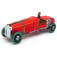 Creative Vintage Tin Toys Racing Car Model Child Clockwork Spring Locomotive Classic Toys Retro Reminiscence Kids
