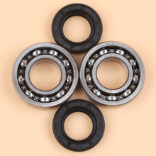 Crankshaft Main Ball Bearing Oil Seals For STIHL 018 MS180 017 MS170 Chainsaw Replace #6002 / 9503 003 0311 9638 1581
