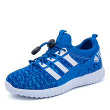Size 26-37 Childrens Mesh Sports Sneakers Kids Fly Netting Breathable Shoes Summer Shoes for Boys and Girls