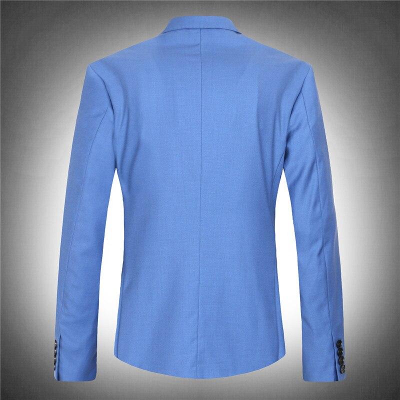 Erkek Kıyafeti'ten T. Elbise'de Yüksek kaliteli takım elbise ceketler setleri erkekler resmi obez mavi ceket çok büyük ekstra set süper büyük artı boyutu M L XL XXL XXXL 8xl'da  Grup 2