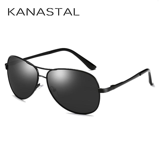 KANASTAL Classic Pilot Sunglasses Polarized Men Women Aviation Sunglasses Brand Desinger Driving Sun Glasses UV400 Free Shipping