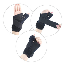 1 PC Elastic Adjustable Thumb Brace Two-way Thumb Stabilizer Finger Support Wrist Band For Hand Sprain Fracture Fixation Belt цена 2017