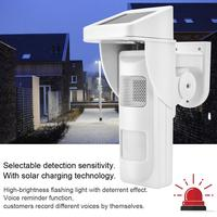 Wireless Outdoor Solar Motion Sensor Waterproof Detector Infrared Security Alarm System