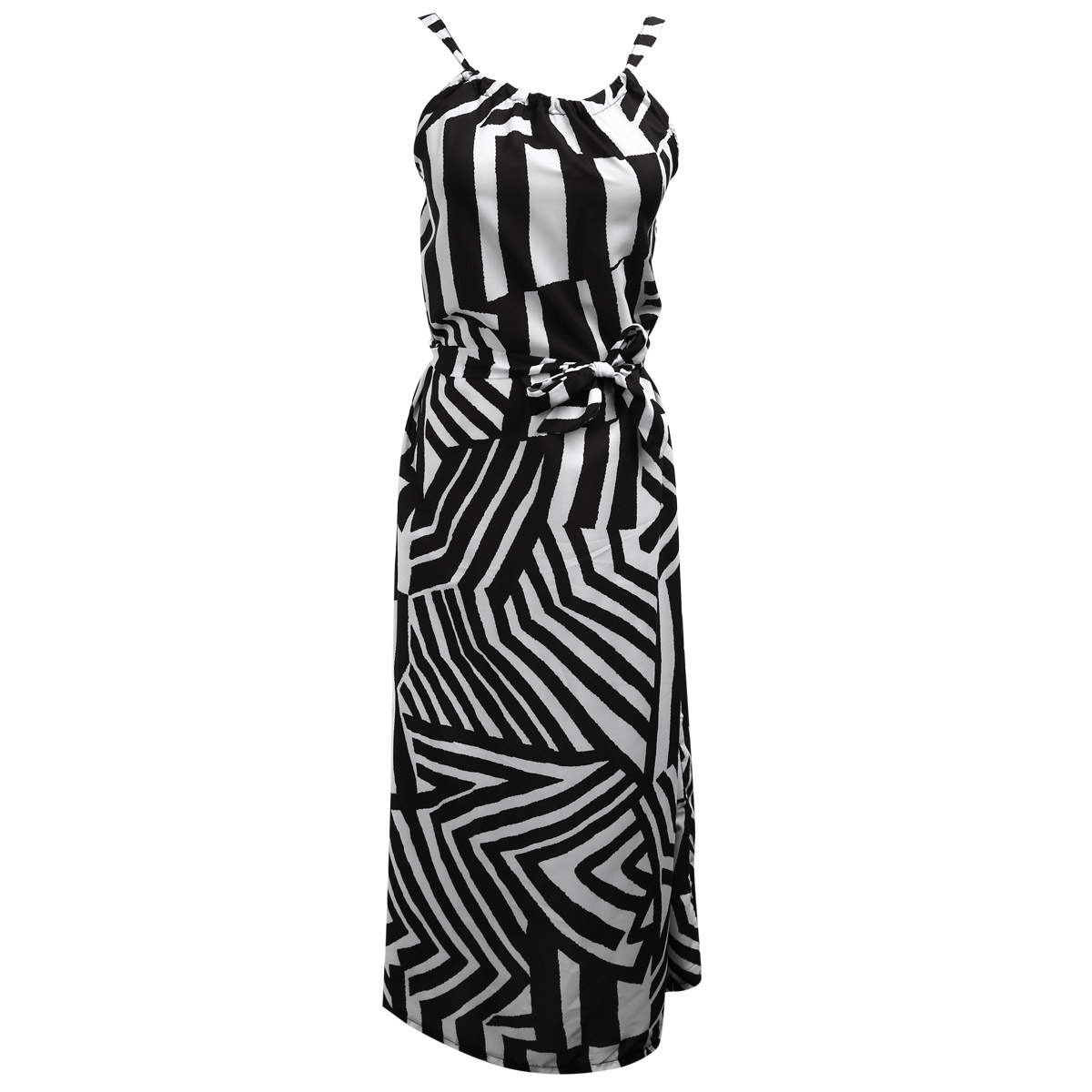 Women Sexy Summer Dress Sleeveless Maxi Long Evening Party Beach Dress Sundress Size S-XL 1