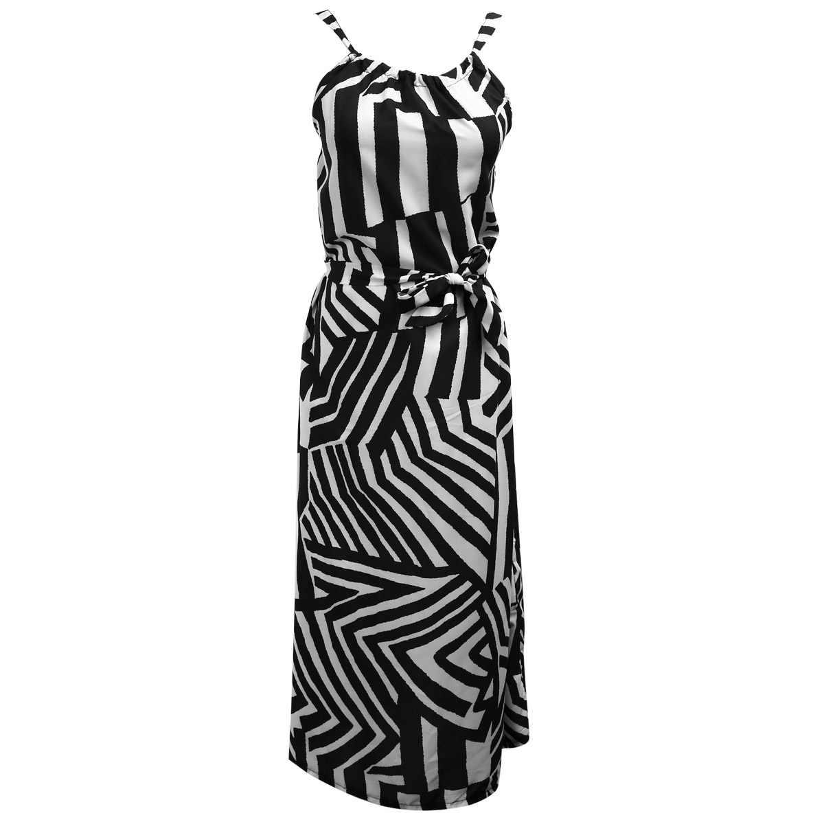 Kadınlar Seksi yaz elbisesi Kolsuz Maxi Uzun Akşam Parti Plaj Elbise Sundress Boyutu S-XL