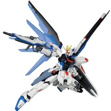 цена на Japaness Bandai Original Gundam HG 1/144 Model ZGMF-X10A Strike Freedom Destroy Armor Unchained Mobile Suit Kids Toys