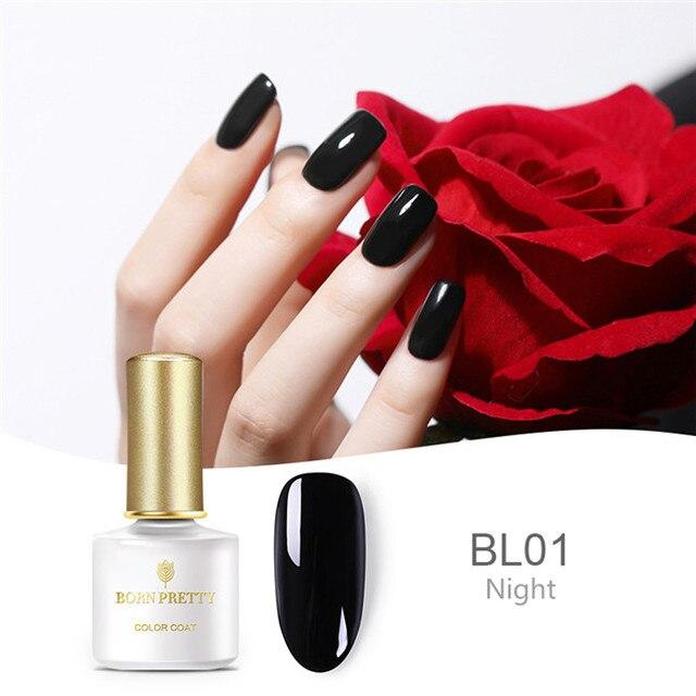 BORN PRETTY Basic Line Series UV Gel Polish 6ml Black Nude