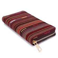 Women's Bohemian Purse With Copper Zipper