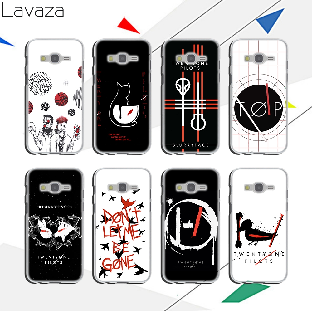 Lavaza Stylish simple cartoon pattern Hard Case for Samsung Galaxy A3 A5 A6 2017 2016 2015 A8 Plus 2018 Grand Prime Note 8 9