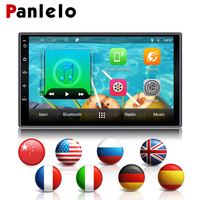 Сурер!!!! Универсальный Android двойной 2 Din Авто Радио 7 ''Сенсорный экран 4 ядра 1 ГБ Оперативная память 16 ГБ Встроенная память радио Bluetooth автомоб