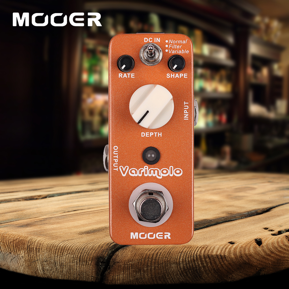 Mooer Varimolo 3 Modes Normal/Filter/Variable Digital Tremolo Guitar Effects Pedal adriatica часы adriatica 3156 5116q коллекция twin