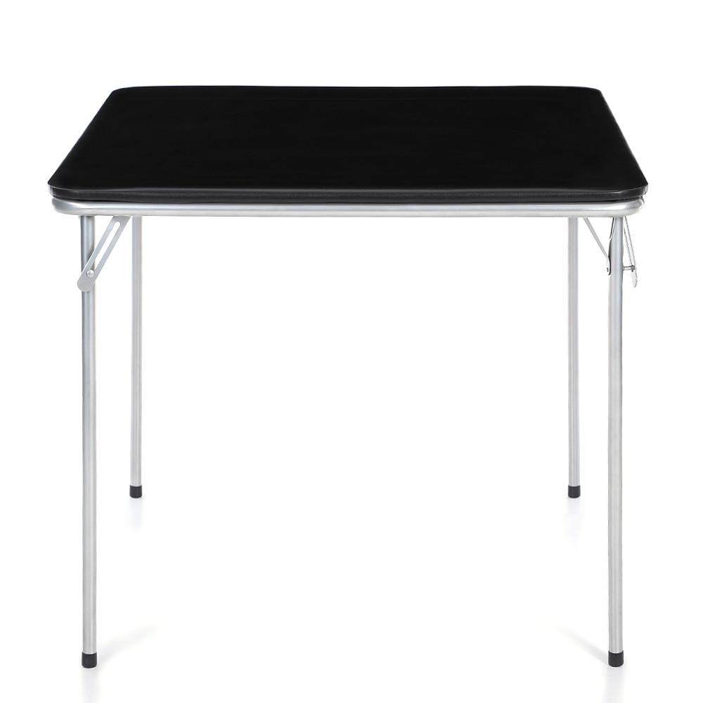 Online Shop iKayaa 5PCS Metal Folding Dining Table Chair Set ...