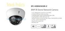 Бесплатная Доставка DAHUA IP Cctv Камеры 8MP ИК Купольная Сетевая Камера с POE IK10 IP67 Без Логотипа IPC-HDBW5830R-Z