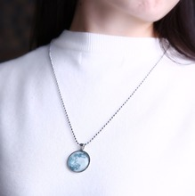 Best Glow In The Dark Moon Necklace Cheap