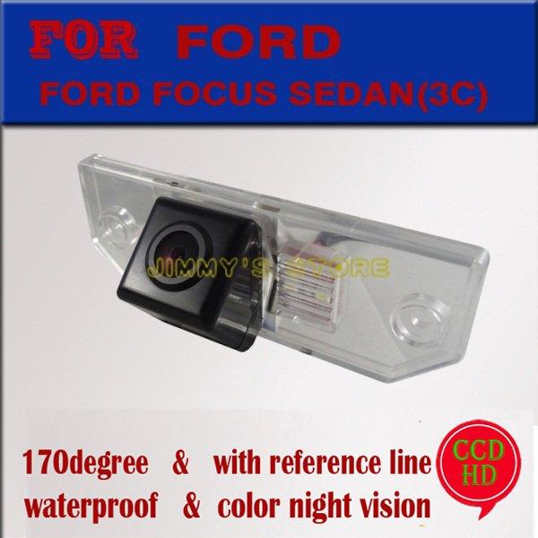 CCD HD ראיית לילה מכונית מצלמה אחורית - אלקטרוניקה לרכב