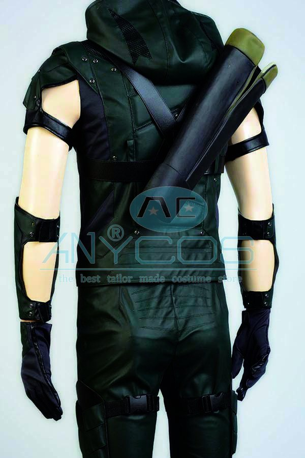The Green Arrow Oliver Queen Uniforme Adultos pantalones superiores - Disfraces - foto 6
