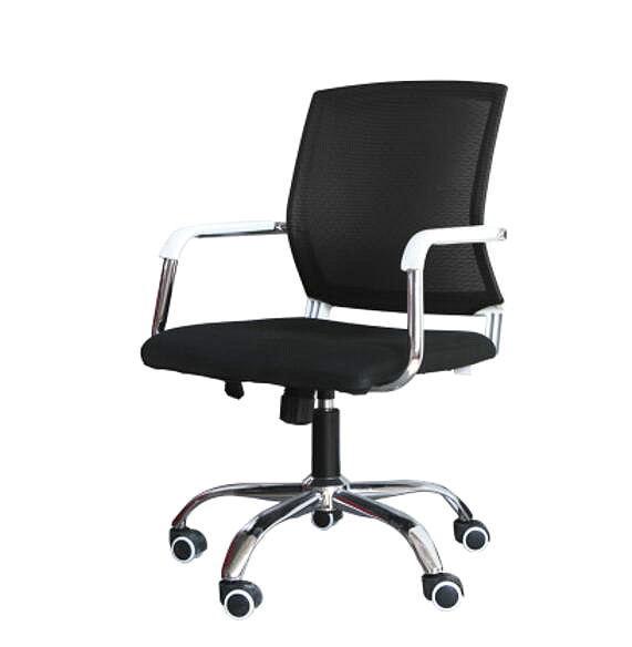 High quality ergonomic conference office chair swivel lift computer chair household bow  chair computer chair home office chair mobile no handrail small lift swivel chair mesh staff chair
