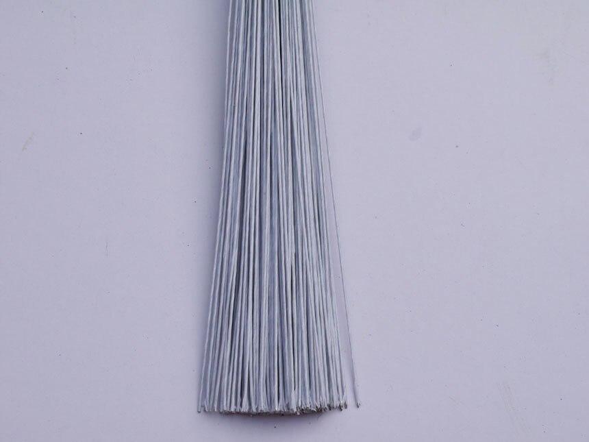 22 # weiß papier bedeckt draht 14 \