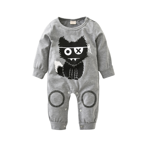 2018 New Style Baby Boys Girls Romp Clothes Long Sleeve Rompers Newborn Cotton Baby Girl Clothing Jumpsuit Infant Clothing