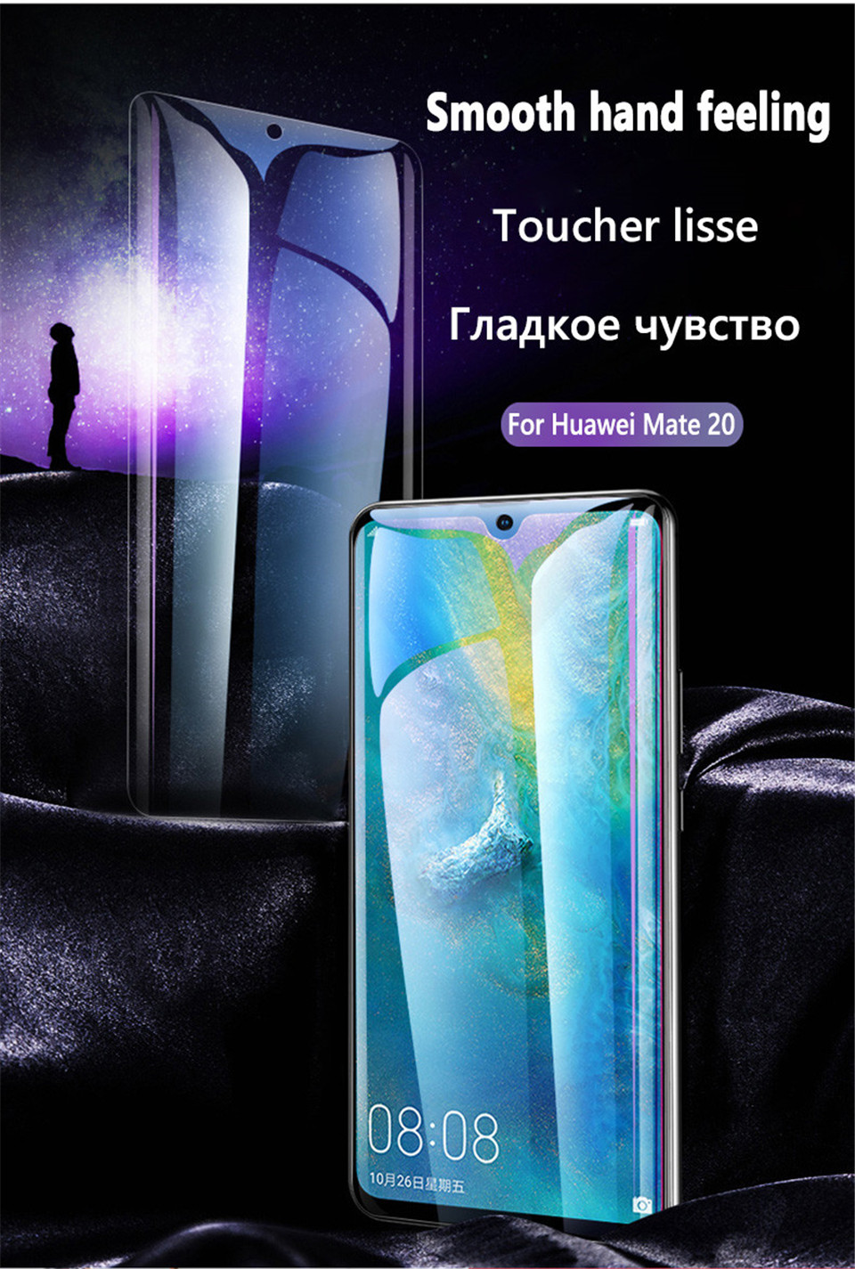 20D Screen Protector Hydrogel Film For Huawei P40 P20 P30 Lite Protective Film For Huawei Mate 20 Pro 10 Lite Film Not Glass HTB1jDJZV9zqK1RjSZFLq6An2XXaV