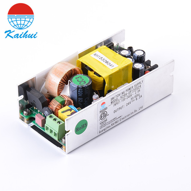 Single Output AC DC Power Supply 24V 150W Open Frame SMPS Led Stage ...