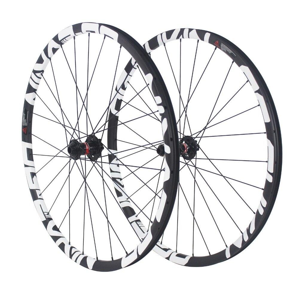OG EVKIN 27,5 29 горный велосипед довод углерода колеса MTB колеса велосипеда 27.5er 29er 15x100 мм/12x142 мм через ось углерода колесная