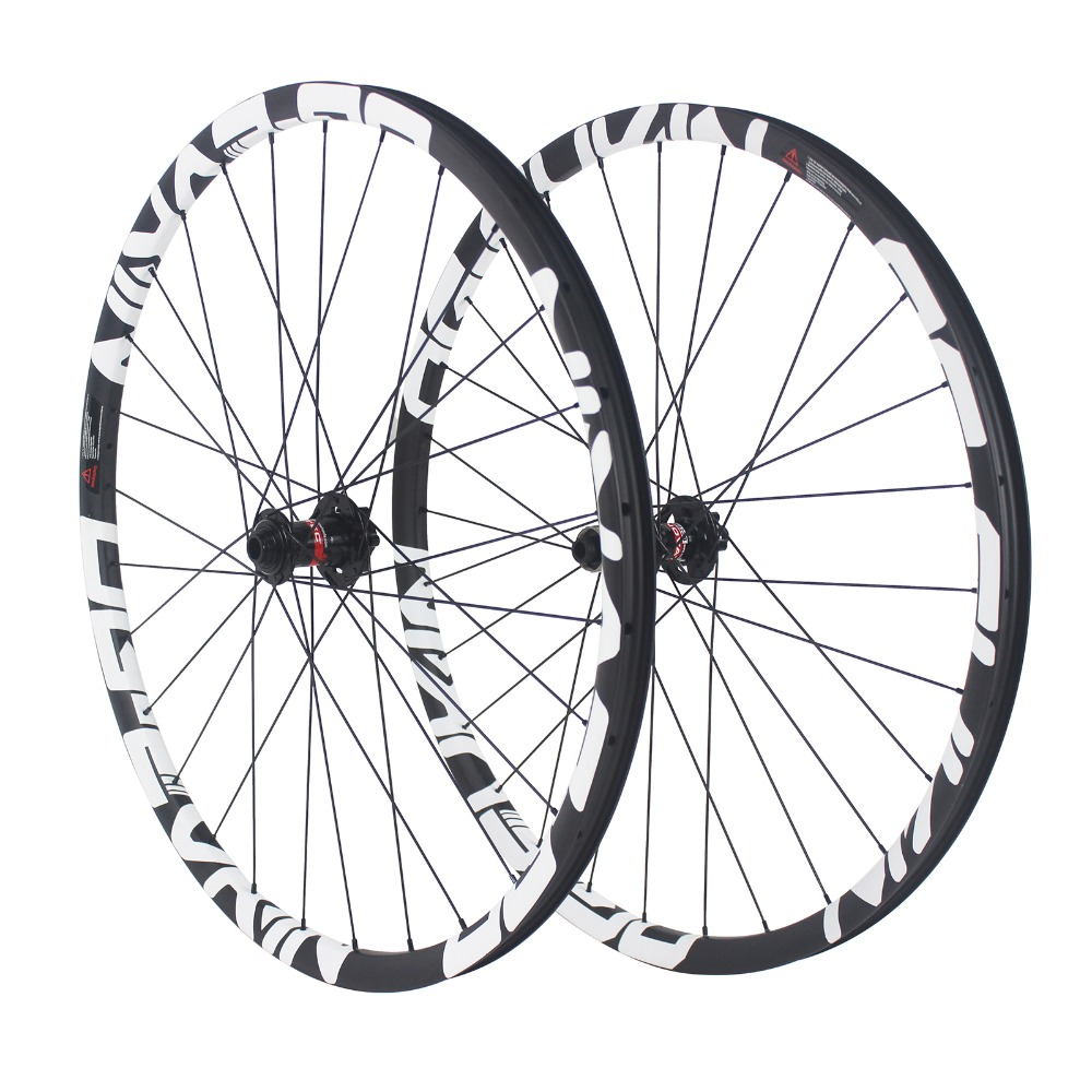 OG-EVKIN 27.5 29 mountain bike clincher carbon wheels MTB bicycle wheel 27.5er 29er 15x100mm/12x142mm thru axle carbon wheelset factory direct mountain bike clincher wheelset 29 inch 27 5er carbon mtb wheels 29er 650b carbon mtb wheels tubeless rims