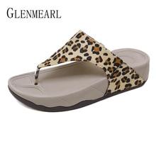 Women Slippers Summer Woman Brand Shoes Flip Flops Indoor Slip On Rubber Thick Bottom Plus Size New Arrivals DE