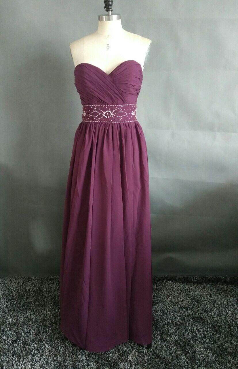 Custom Made Cheap font b Bridesmaid b font font b Dress b font Floor Length Sweetheart